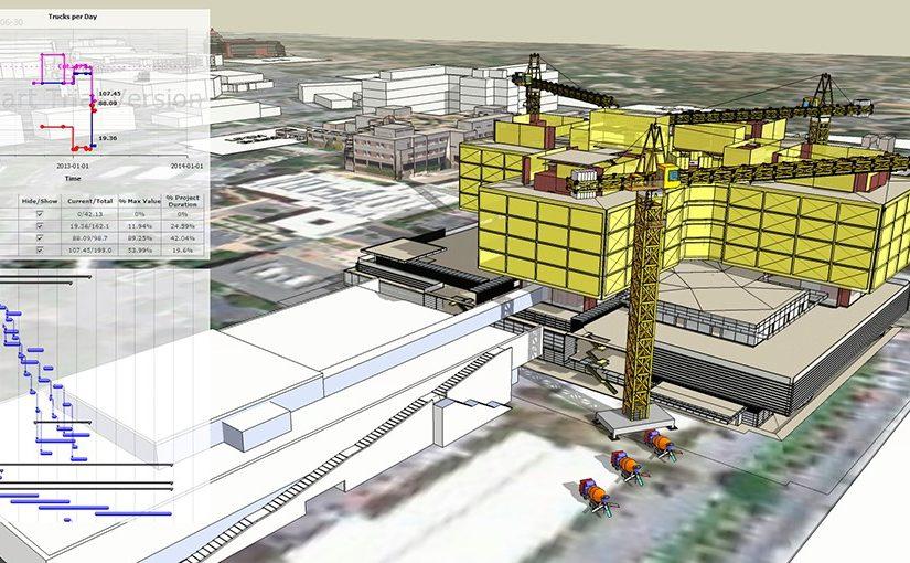 På ByggExpo vil besøkende se og lære mer om nytteverdien av å simulere et bygg i 3D før realisering på byggeplassen.